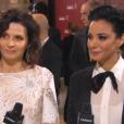 Loubna Abidar et Juliette Binoche aux César 2016