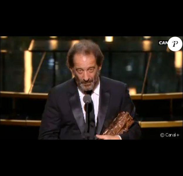 César du meilleur acteur : Vincent Lindon pour La Loi du marché - 26 février 2016