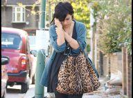 REPORTAGE PHOTOS : Quand Lily Allen va acheter ses légumes... quel drôle de sac à provisions !