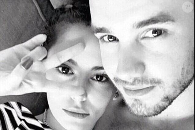 Liam Payne et Cheryl Cole en couple, le 28 février 2016.