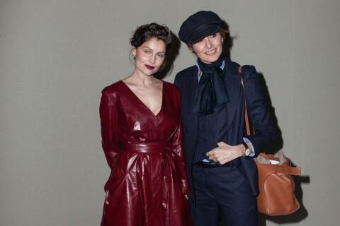 Fashion Week : Laetitia Casta, ravissante, voit rouge au défilé Nina Ricci