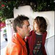 Robert Downey Jr avec son fils à Malibu le 28 mai 2006.