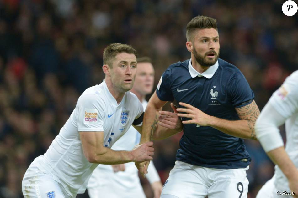 Olivier Giroud Ici Lors D039un Match Amical France Angleterre Le