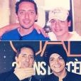 Kev Adams dévoile un cliché de sa première rencontre avec Gad Elmaleh, en 2006.