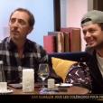 Gad Elmaleh et Kev Adams dans Les invisibles, le 29 janvier 2016 sur TF1.