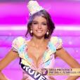 """""""Miss Provence - Les cinq finalistes défilent, lors de l'élection Miss France 2016 le samedi 19 décembre 2015 sur TF1"""""""