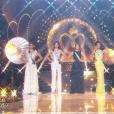 """""""Défilé des 5 finalistes, lors de l'élection Miss France 2016 le samedi 19 décembre 2015 sur TF1"""""""