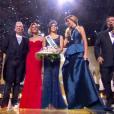 Miss Nord-pas-de-Calais, Iris Mittenaere, est élue Miss France 2016, lors de l'élection Miss France 2016 le samedi 19 décembre 2015 sur TF1