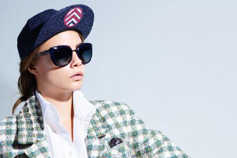 Cara Delevingne : Geek futuriste pour Chanel