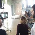 """""""Katherine Heigl s'est mise en scène et a dirigé le clip de la nouvelle chanson de son mari Josh Kelley, intitulée It's Your Move. Le morceau raconte une dispute du couple qui a bien faillit leur coûter leur mariage. Photo publiée sur Instagram au mois de mars 2016."""""""