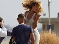 REPORTAGE PHOTOS : Gisele Bündchen, une future mariée magnifique... les cheveux au vent !
