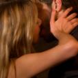 Diane et Marco s'embrassent dans Bachelor, sur NT1, lundi 21 mars 2016