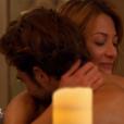Moment hot pour Marco et Diane dans le jacuzzi dans Bachelor, sur NT1, lundi 21 mars 2016