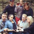 Melissa Fumero a annoncé sa grossesse sur sa page Instagram au mois de novembre 2015.