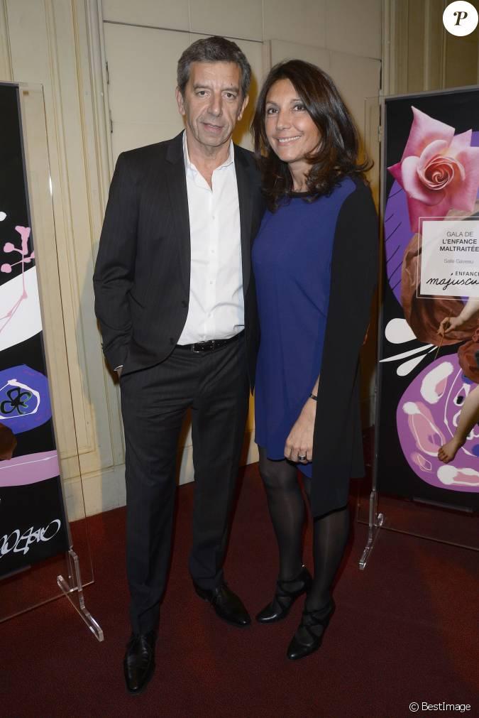 Michel cymes et sa femme nathalie gala d 39 enfance majuscule donn au profit de l 39 enfance - Laurent bignolas et son epouse ...