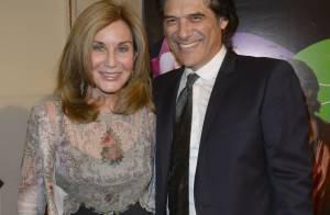 George Corraface et sa femme face à Richard Berry et sa belle, de gala !