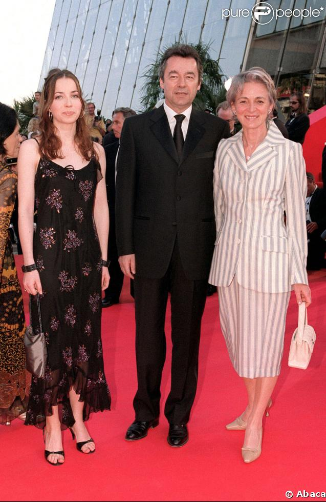 Louise Denisot et ses parents