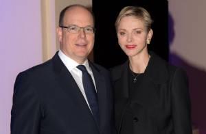 Albert et Charlene de Monaco, couple princier uni pour le début des festivités