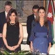 Rania de Jordanie, belle de jour comme de nuit