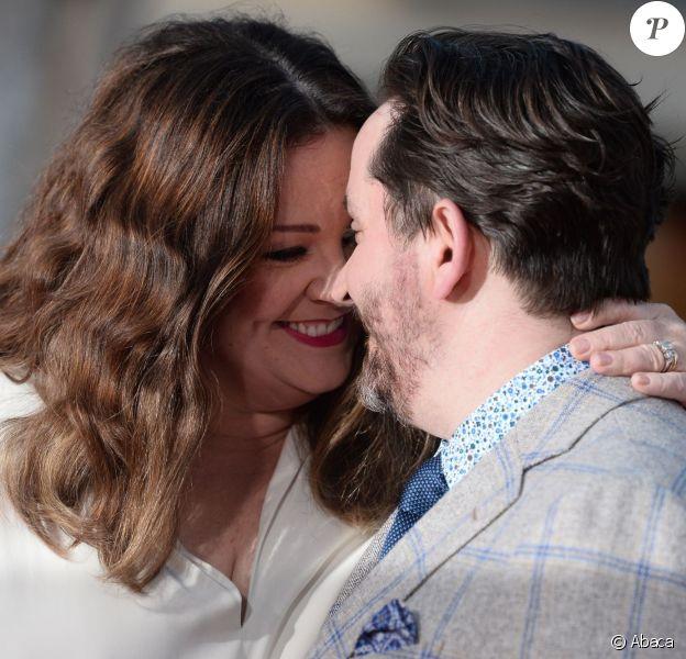 Melissa McCarthy et Ben Falcone - Avant-première du film The Boss à Los Angeles le 28 mars 2016