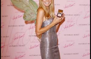 REPORTAGE PHOTOS : Heidi Klum, un magnifique papillon pour... Victoria's Secret!