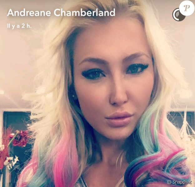 """Andréane Chamberland des """"Anges 8"""""""