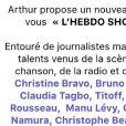 Leila Ben Khalifa (Secret Story 8) : Elle devient chroniqueuse dans l'Hebdo Show d'Arthur