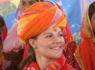 REPORTAGE PHOTOS : Victoria de Suède, princesse indienne pour quelques jours !