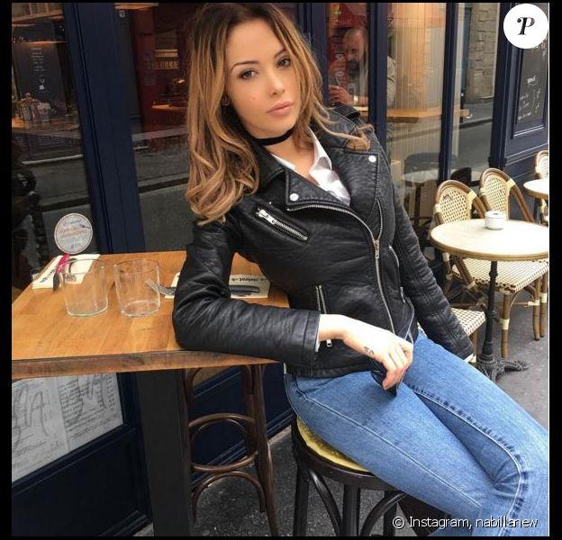 Nabilla Benattia affiche une nouvelle coupe de cheveux, le 7 avril 2016, sur Instagram