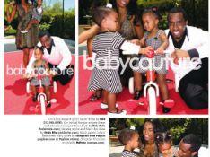 PHOTOS : P. Diddy prend la pose avec son ex et leurs adorables filles...