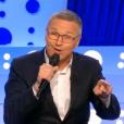 Laurent Ruquier, dans On n'est pas couché sur France 2, le samedi 9 avril 2016.