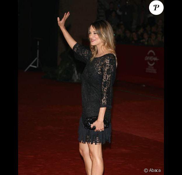 Asia Argento au Festival du Film de Rome, le 25/10/08