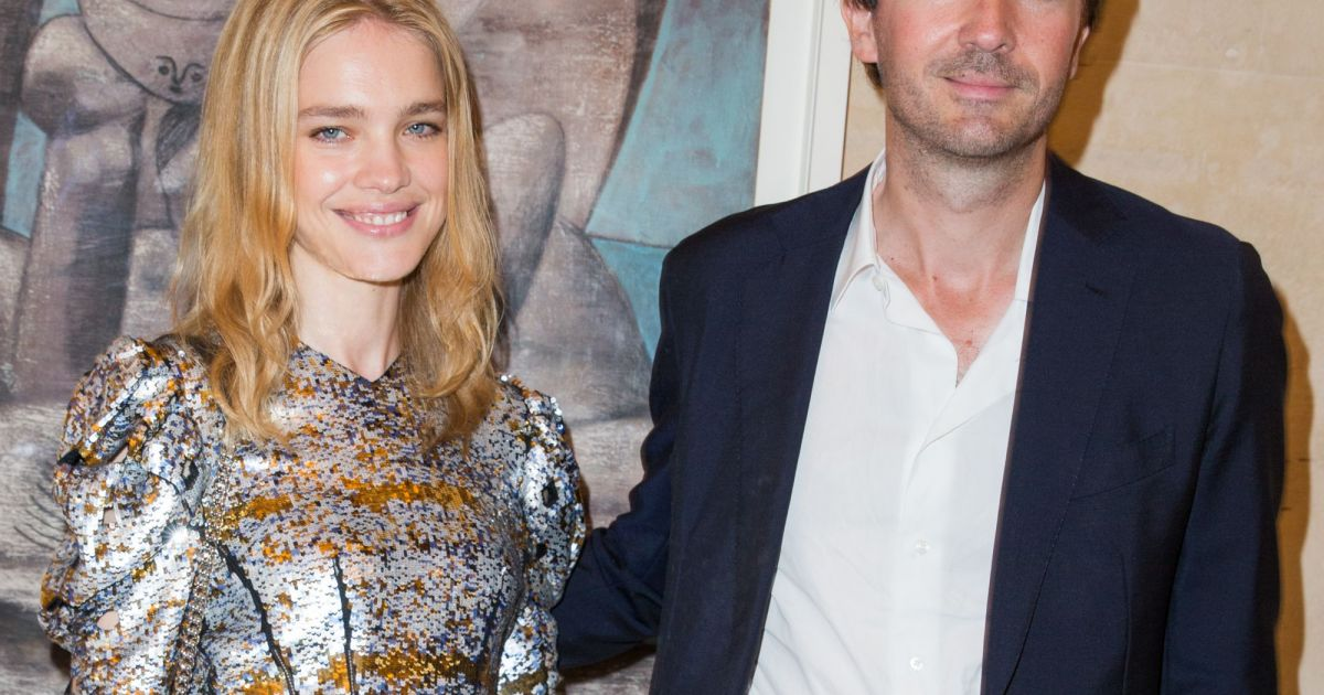 Natalia Vodianova and Antoine Arnault attend a private