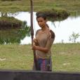 """Karima -""""Koh-Lanta 2016"""", épisode du 15 avril 2016, sur TF1."""