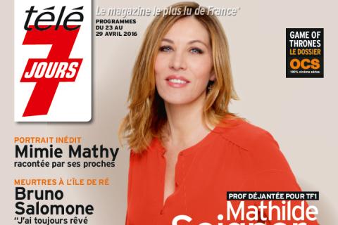 """Mathilde Seigner évoque l'éducation de son fils : """"Je ne suis pas sa copine"""""""