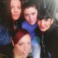 Marjorie, Claire, Alexandra et Coralie, des L5, sur Instagram.