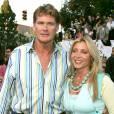 """David Hasselhoff et son ex-femme Pamela à l'avant-première du film """"Mr & Mrs Smith"""" organisée à Los Angeles le 7 juin 2005"""