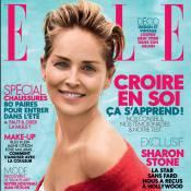 """Sharon Stone, 58 ans : Naturelle pour """"Elle"""", elle assume ses rides et rayonne"""