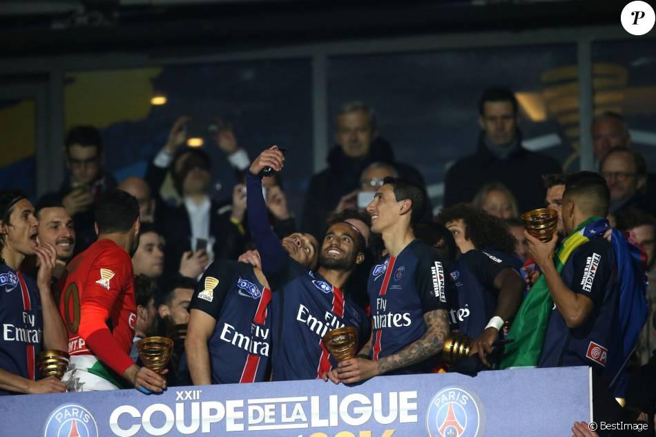 Le psg remporte la coupe de la ligue face lille au stade de france paris le 23 avril 2016 - Stade de france coupe de la ligue ...