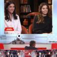 """Ninon et Pauline, les filles de Christophe Dechavanne, ont fait pleurer leur père dans """"Vivement dimanche"""", sur France 2, le 24 avril 2016."""