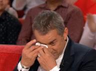 Christophe Dechavanne en larmes après la déclaration d'amour de ses filles
