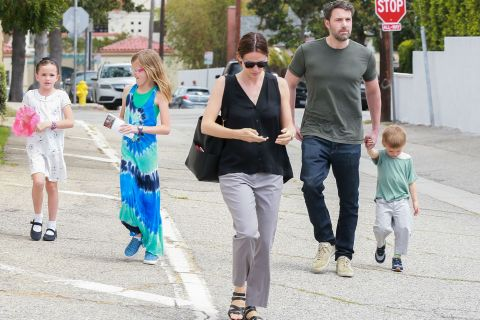 Jennifer Garner et Ben Affleck : Séparés mais toujours unis pour leurs enfants