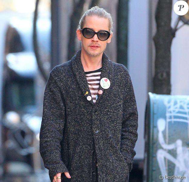 Macaulay Culkin à New York le 8 mars 2015