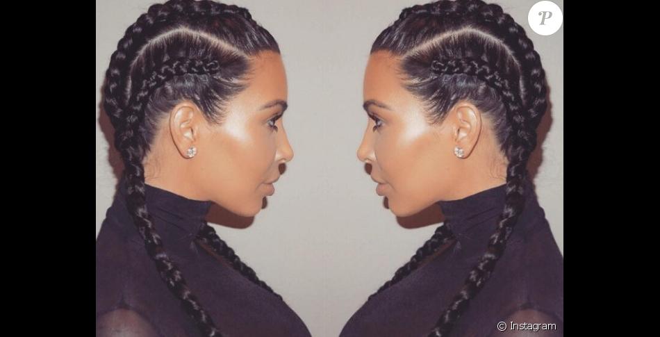 Kim Kardashian a popularisé cette coiffure des Boxer Braids