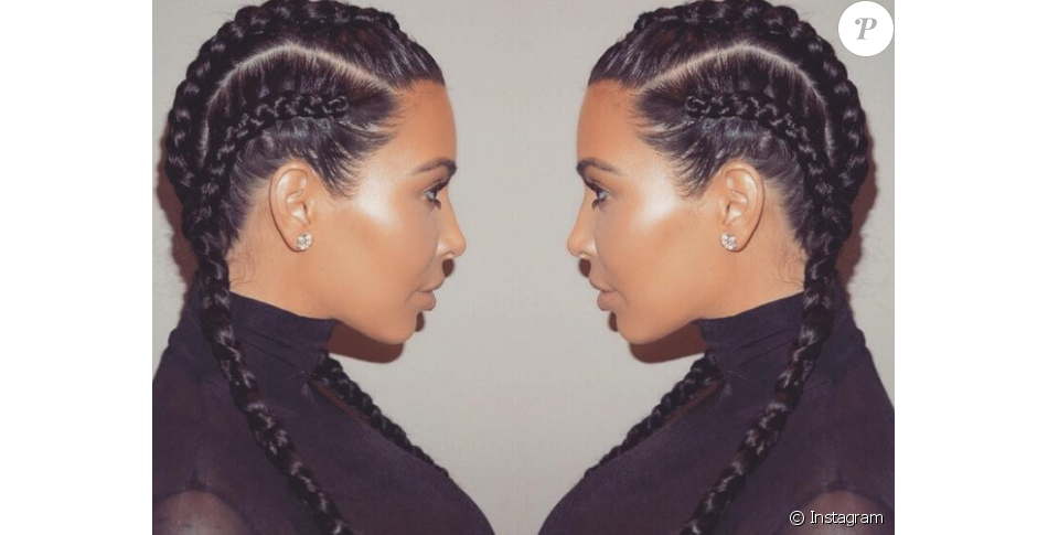Kim Kardashian Kylie Jenner Tresses Power La Coiffure Du