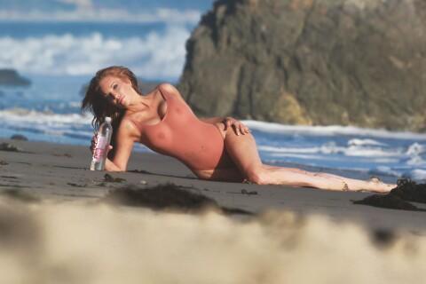 Angelica Bridges : Shooting torride pour la bombe d'Alerte à Malibu