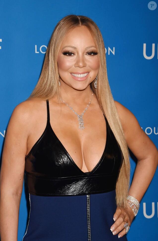 Mariah Carey - 6ème soirée de gala biannuel UNICEF Ball 2016, en partenariat avec Louis Vuitton, à l'hôtel Beverly Wilshire Four Seasons à Beverly Hills, le 12 janvier 2016.