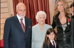 Céline Dion fête sa maman :