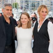 Julia Roberts radieuse : 1ers pas à Cannes avec George Clooney et Jodie Foster