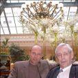 Jacques Piccard et son fils Bertrand Piccard